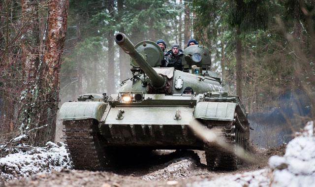 Поездка на танках в подарок 59