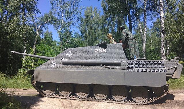 Поездка на танках в подарок 94